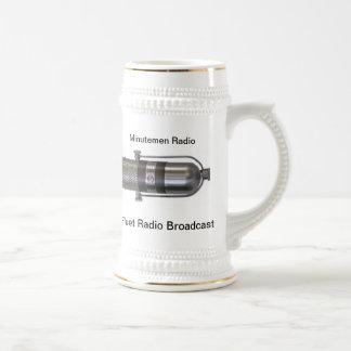 The Mark Fluet Radio Broadcast Stein Mug