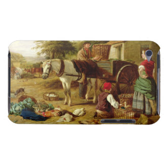 The Market Cart, 1864 (oil on canvas) iPod Touch Cases