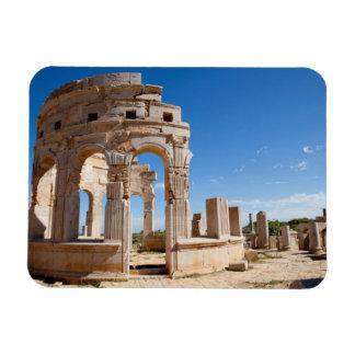The Market, Leptis Magna, Al Khums District Rectangular Photo Magnet