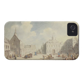 The Market Place at Juliers in Westphalia, 1791 (p iPhone 4 Covers