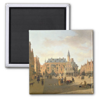 The Market Place with the Raadhuis Square Magnet