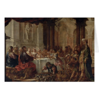 The Marriage at Cana, 1660 Card