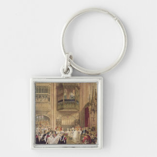The Marriage of Edward VII Key Chain