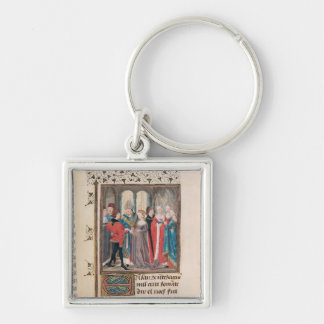 The Marriage of Philippe Auguste  King of France Key Chains