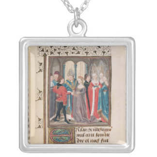 The Marriage of Philippe Auguste  King of France Silver Plated Necklace