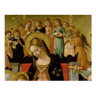 The Marriage of Saint Catherine of Siena Postcard