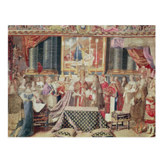 The Marriage of the King Postcard