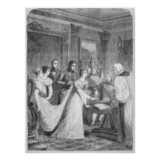 The Marriage of The Princess Charlotte of Poster