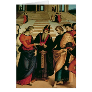The Marriage of the Virgin, 1504 Card