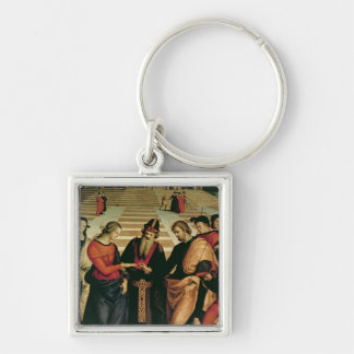 The Marriage of the Virgin, 1504 Keychains