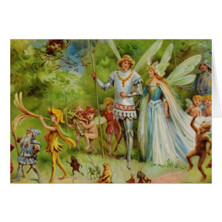 The Marriage of Thumbelina Card