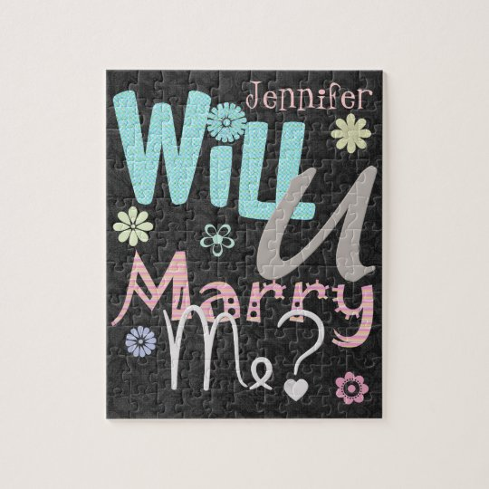 The Marriage Proposal Puzzle