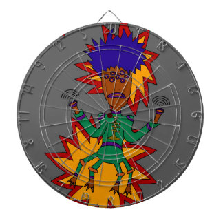 The Martian Jazz Man Dartboard