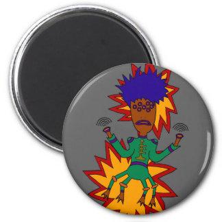 The Martian Jazz Man Magnet