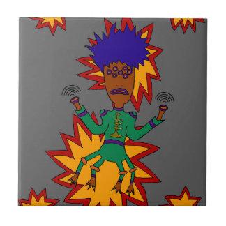 The Martian Jazz Man Tile