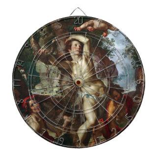 The Martyrdom of Saint Sebastian Joachim Wtewael Dartboard
