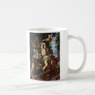 The Martyrdom of Saint Sebastian Joachim Wtewael Basic White Mug