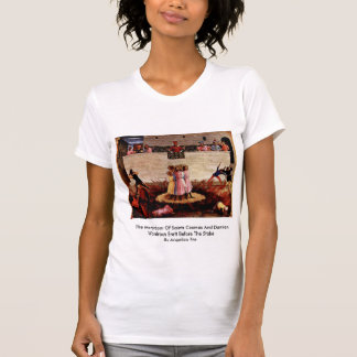 The Martyrdom Of Saints Cosmas And Damian T-shirts