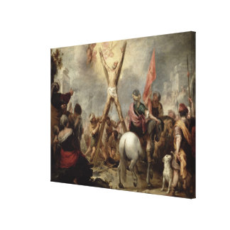 The Martyrdom of St. Andrew, 1675-82 (oil on canva Gallery Wrapped Canvas