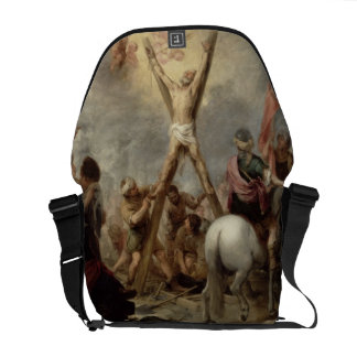 The Martyrdom of St. Andrew, 1675-82 (oil on canva Commuter Bag