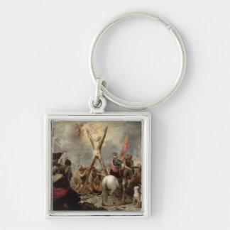 The Martyrdom of St. Andrew, 1675-82 (oil on canva Key Chains