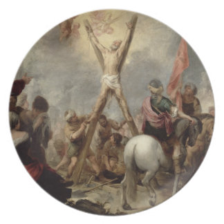 The Martyrdom of St. Andrew, 1675-82 (oil on canva Plates