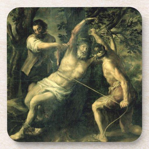 The Martyrdom of St. Bartholomew 2 Coasters
