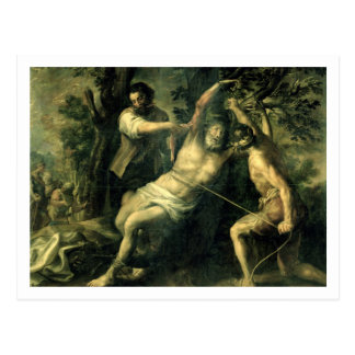 The Martyrdom of St. Bartholomew 2 Postcard