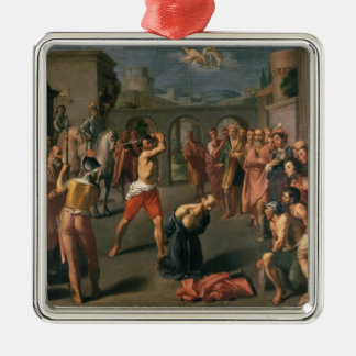 The Martyrdom of St.Paul Silver-Colored Square Decoration