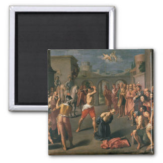 The Martyrdom of St.Paul Square Magnet