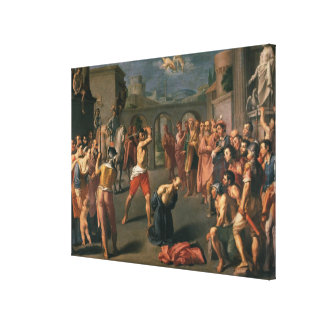 The Martyrdom of St.Paul Stretched Canvas Print