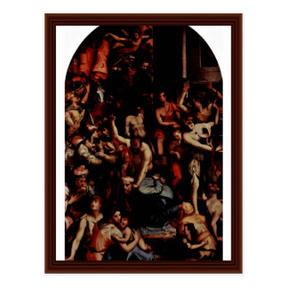 The Martyrdom Of St. Romulus By Portelli Carlo Postcard