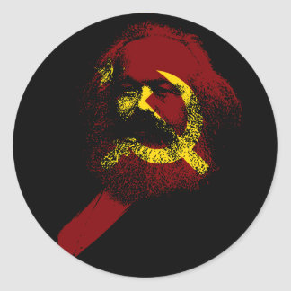 The Marx Classic Round Sticker