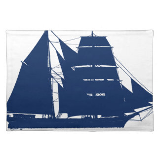 The Mary Celeste 1872 by tony fernandes Placemat
