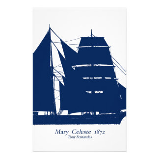 The Mary Celeste 1872 by tony fernandes Stationery