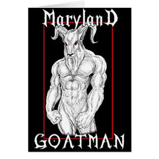 The Maryland Goatman Card