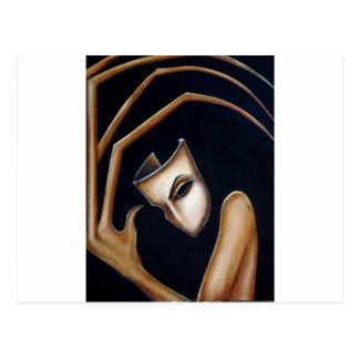 the mask postcard