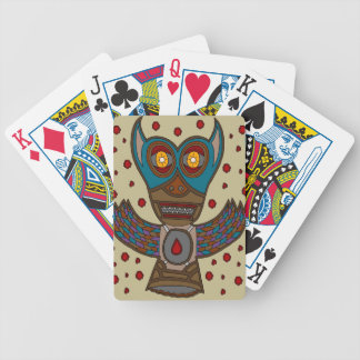 The Masked Blood Bat Bicycle Playing Cards