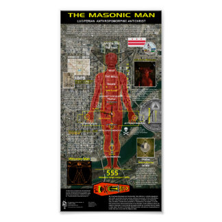 The Masonic Man Poster