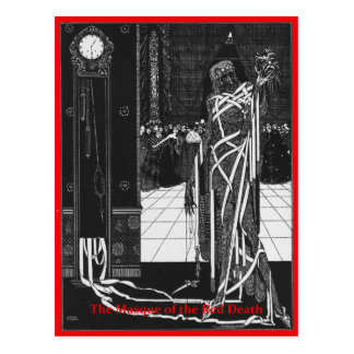 The Masque of the Red Death Postcard