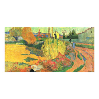 The Mass Of Arles By Gauguin Paul (Best Quality) Personalised Photo Card