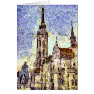 The Mathias Church Budapest Art Card