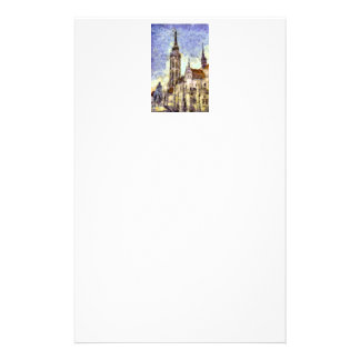 The Mathias Church Budapest Art Stationery