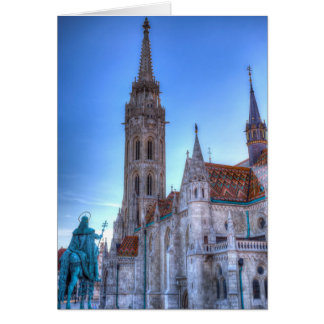 The Mathias Church Budapest Card