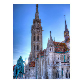 The Mathias Church Budapest Postcard