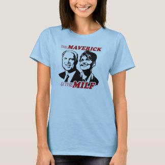 The Maverick and The Milf T-Shirt