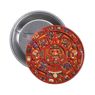 The Mayan Calendar 6 Cm Round Badge