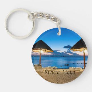 the Mayan Riviera Key Ring