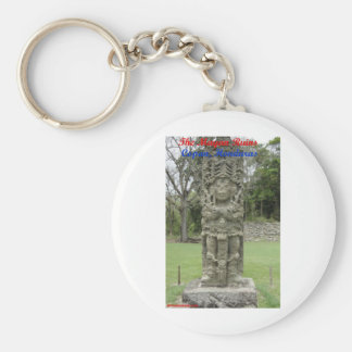 The Mayan Ruins - Copan, Honduras Key Ring