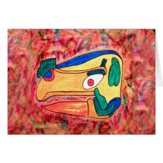 THE MAYAN TOUCAN CARD
